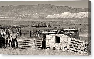 Field Of Dreams Canvas Print by Everett Bowers