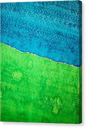 Field Of Dreams Original Painting Canvas Print by Sol Luckman