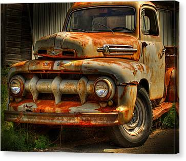 Fifty Two Ford Canvas Print by Thomas Young
