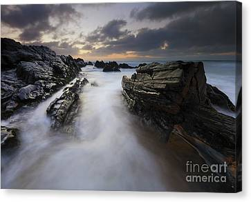 Filled By The Tides Canvas Print by Mike Dawson