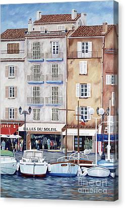 Filles Du Soleil  Canvas Print by Danielle  Perry