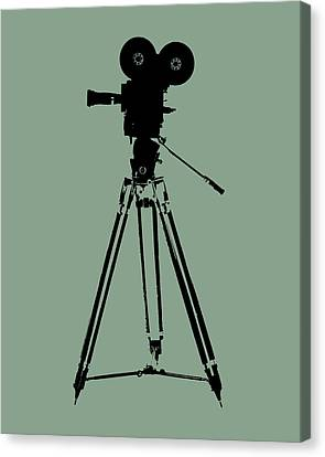 Film Camera Pop Art Canvas Print by Flo Karp