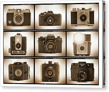Film Camera Proofs 3 Canvas Print by Mike McGlothlen