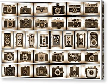 Film Camera Proofs Canvas Print by Mike McGlothlen