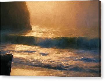 Filtered Light Canvas Print by John K Woodruff