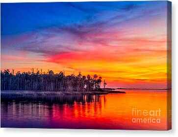Final Glow Canvas Print by Marvin Spates