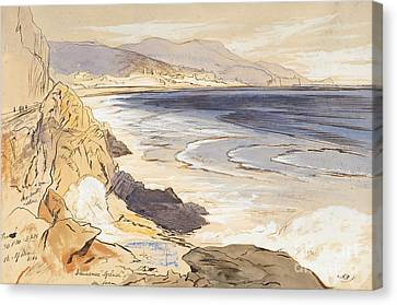 Finale Canvas Print by Edward Lear