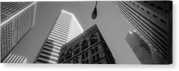 Financial District San Francisco Ca Canvas Print by Panoramic Images