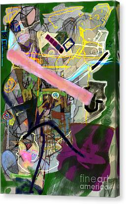 Finding Meaning Despite Appearances 2h Canvas Print by David Baruch Wolk
