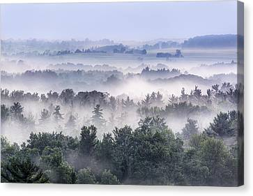 Finger Lakes Morning Canvas Print by Michele Steffey