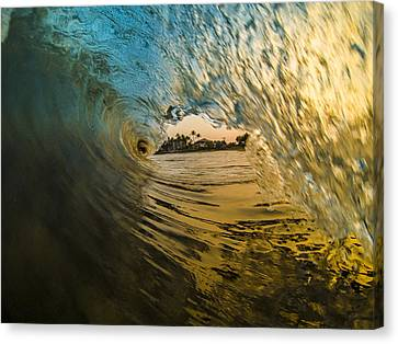 Fire And Ice Canvas Print by Brad Scott