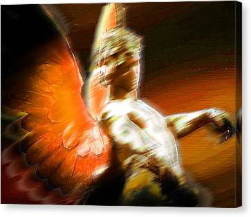Fire Angel 2 Canvas Print by Tony Rubino