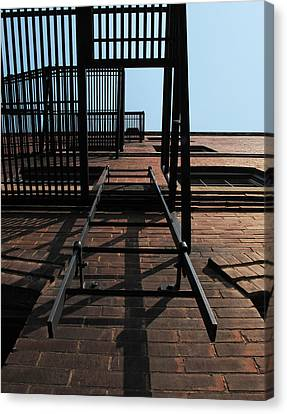 Fire Escape  Canvas Print by Don Spenner