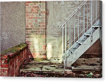 Fire Escape Stairs Canvas Print by Tom Gowanlock