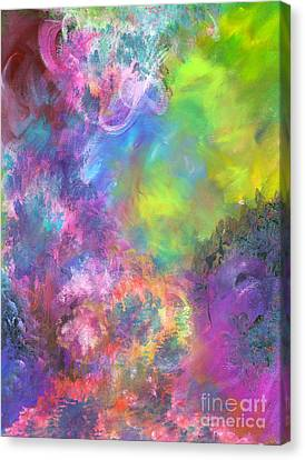 Fire Storm Canvas Print by Jason Stephen