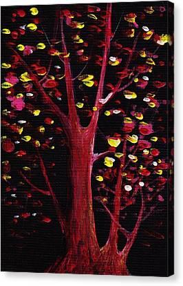 Firefly Dream Canvas Print by Anastasiya Malakhova