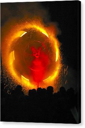 Firewheel Canvas Print by Alan Oliver