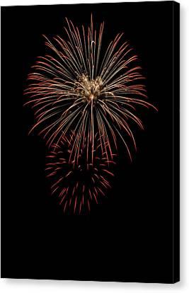 Fireworks 03 Canvas Print by David Kittrell