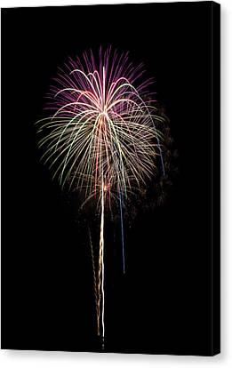 Fireworks 04 Canvas Print by David Kittrell
