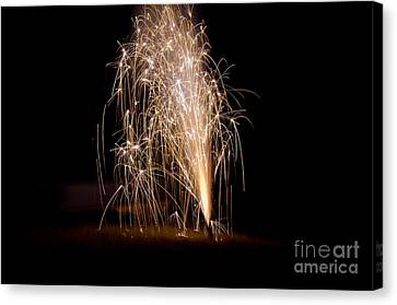 Fireworks 7 Canvas Print by Cassie Marie Photography