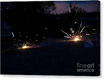 Fireworks  Canvas Print by Cassie Marie Photography