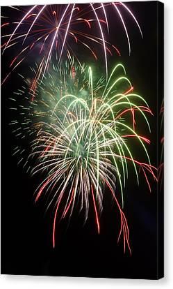 Fireworks Canvas Print by Fabrizio Troiani