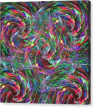 Fireworks Canvas Print by Krazee Kustom
