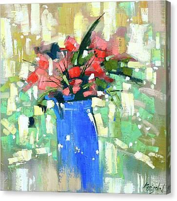 First Day Of Spring Canvas Print by Anastasija Kraineva