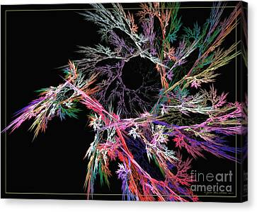 First Flower Canvas Print by Sipo Liimatainen