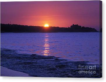 First Light Canvas Print by Dan Holm