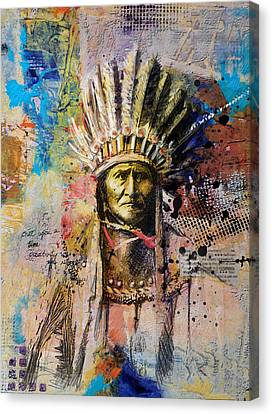 First Nations 6 Canvas Print by Corporate Art Task Force