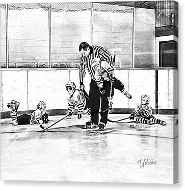 First Skate  Canvas Print by Elizabeth Urlacher