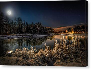 First Snow Canvas Print by Everet Regal