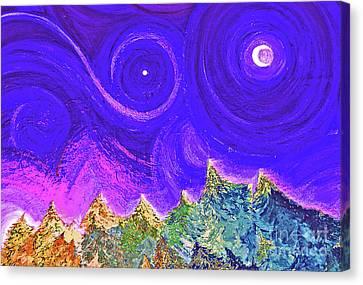 First Star Sunrise Canvas Print by First Star Art