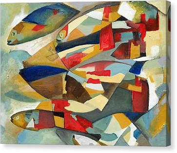 Fish 1 Canvas Print by Danielle Nelisse
