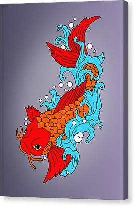 Fish Canvas Print by Mark Ashkenazi