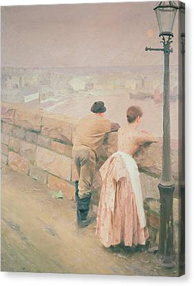 Fisherman St. Ives Canvas Print by Anders Leonard Zorn