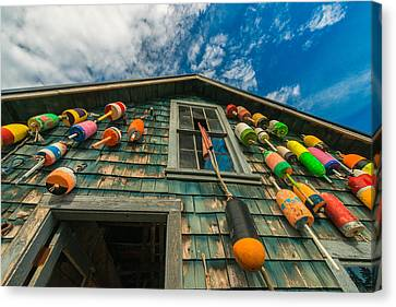 Fisherman's Shack Canvas Print by Joseph Rossbach