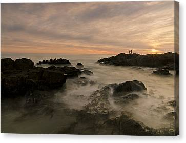 Fishermen Canvas Print by Aaron S Bedell