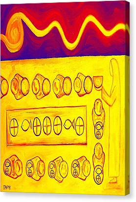 Five Loaves And Two Fish 3 Canvas Print by Patrick J Murphy