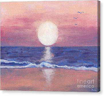 Flagler Beach Dream Canvas Print by Roz Abellera Art