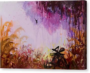Flamboyant Jungle 2 Canvas Print by Susie Hamilton