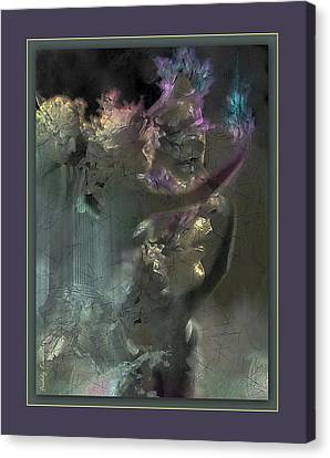 Flame Of Beauty Canvas Print by Freddy Kirsheh
