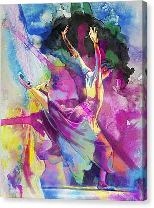 Flamenco Dancer Canvas Print by Catf