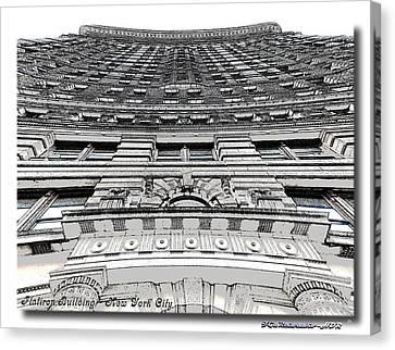 Flat Iron Building  II Canvas Print by Frank Garciarubio