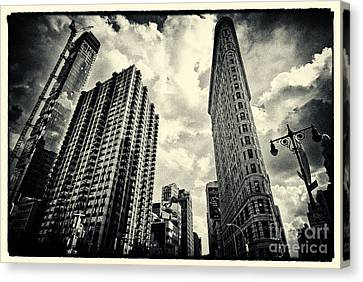 Flat Iron Building New York City Canvas Print by Sabine Jacobs