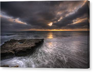 Flatrock Canvas Print by Peter Tellone