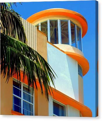 Flavour Of Miami Canvas Print by Karen Wiles