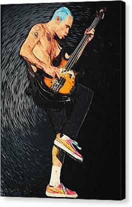 Flea Canvas Print by Taylan Apukovska