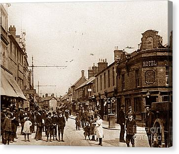 Fleet Street Swindon England Canvas Print by The Keasbury-Gordon Photograph Archive